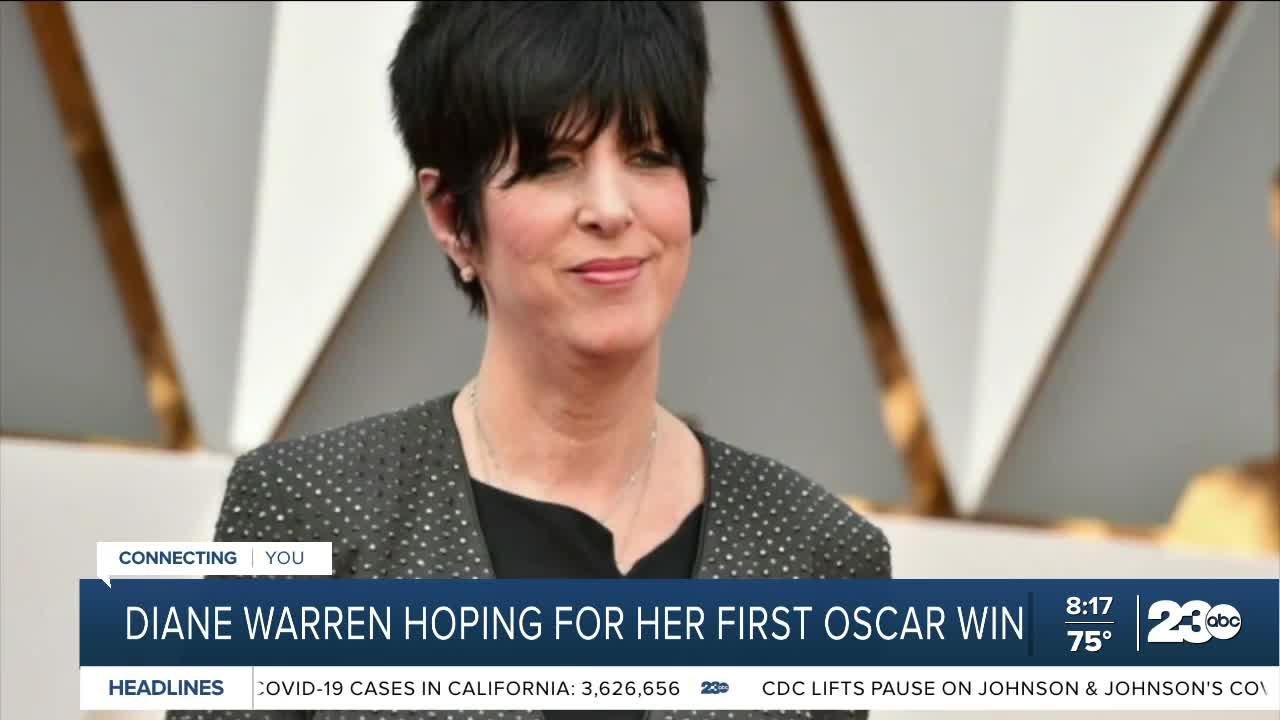 Songwriter Diane Warren nominated for 12th Oscar