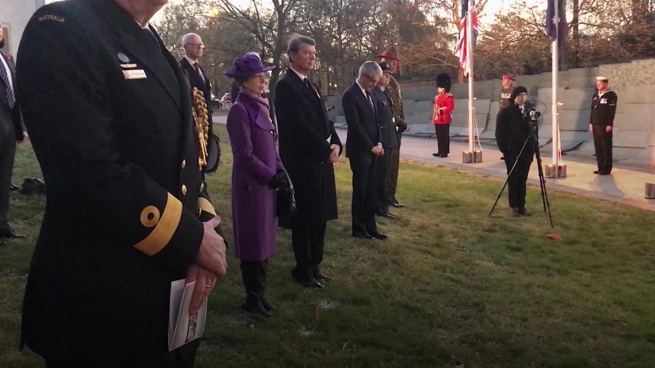 Princess Royal attends dawn Anzac service