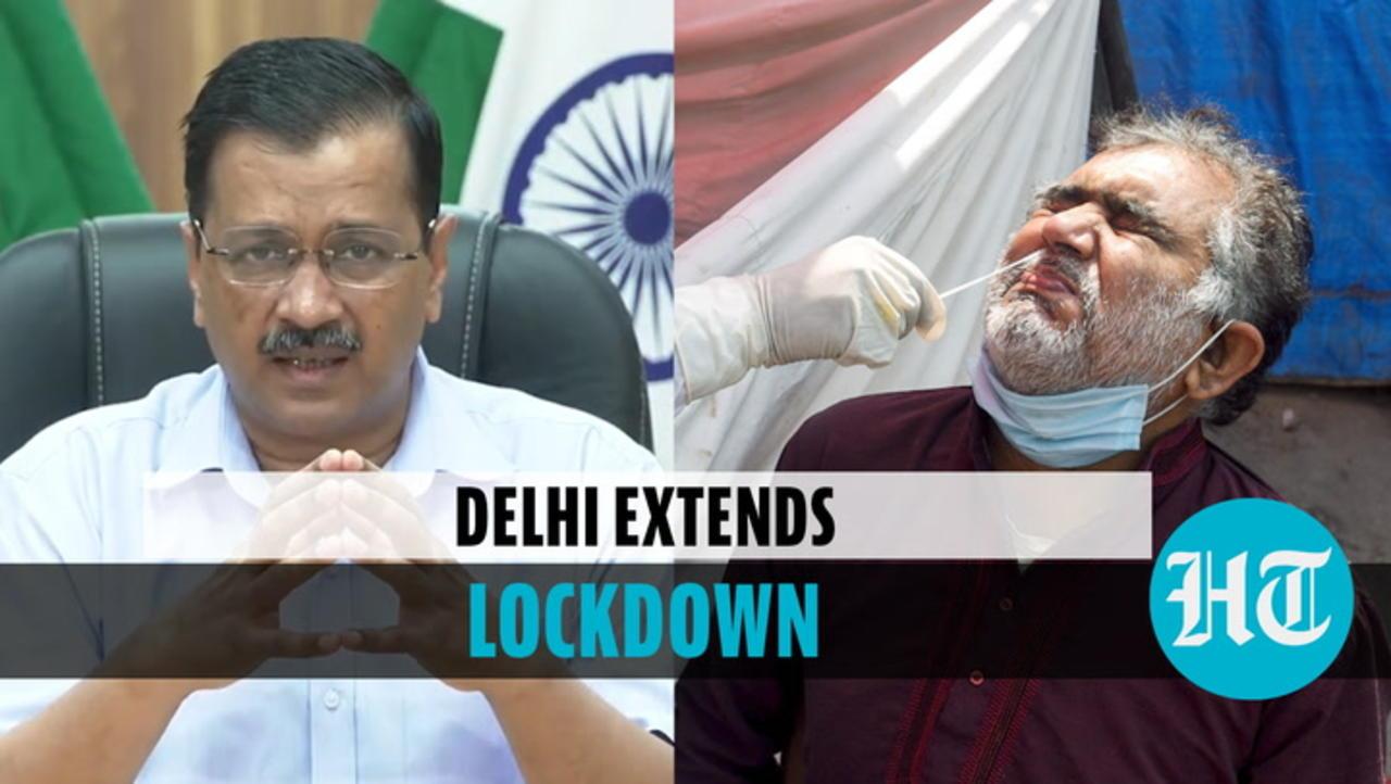 Delhi extends lockdown by a week, CM Kejriwal says 'alarming positivity rate'