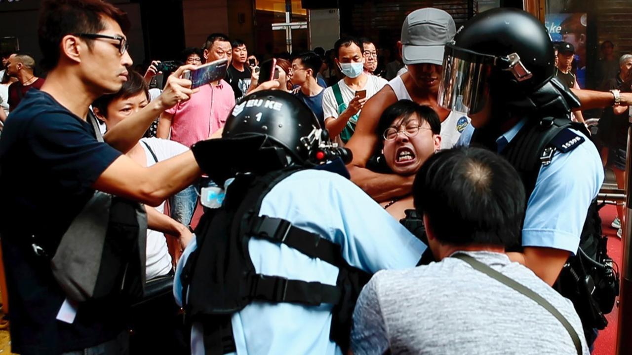 Film on 2019 Hong Kong protests vies for Oscars, riles China