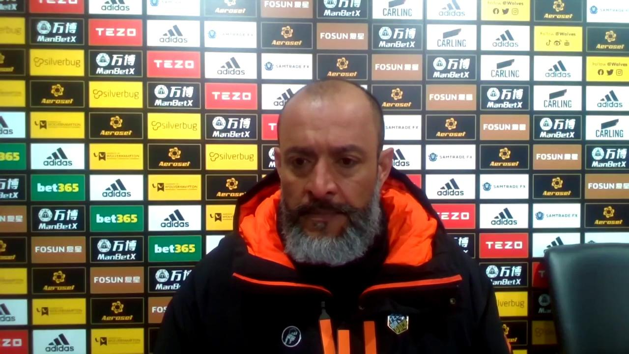 Nuno critical of Wolves' 'bad defending'