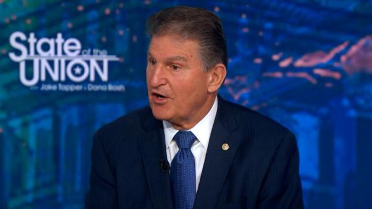 Manchin: I'm not a 'roadblock' to Biden's agenda