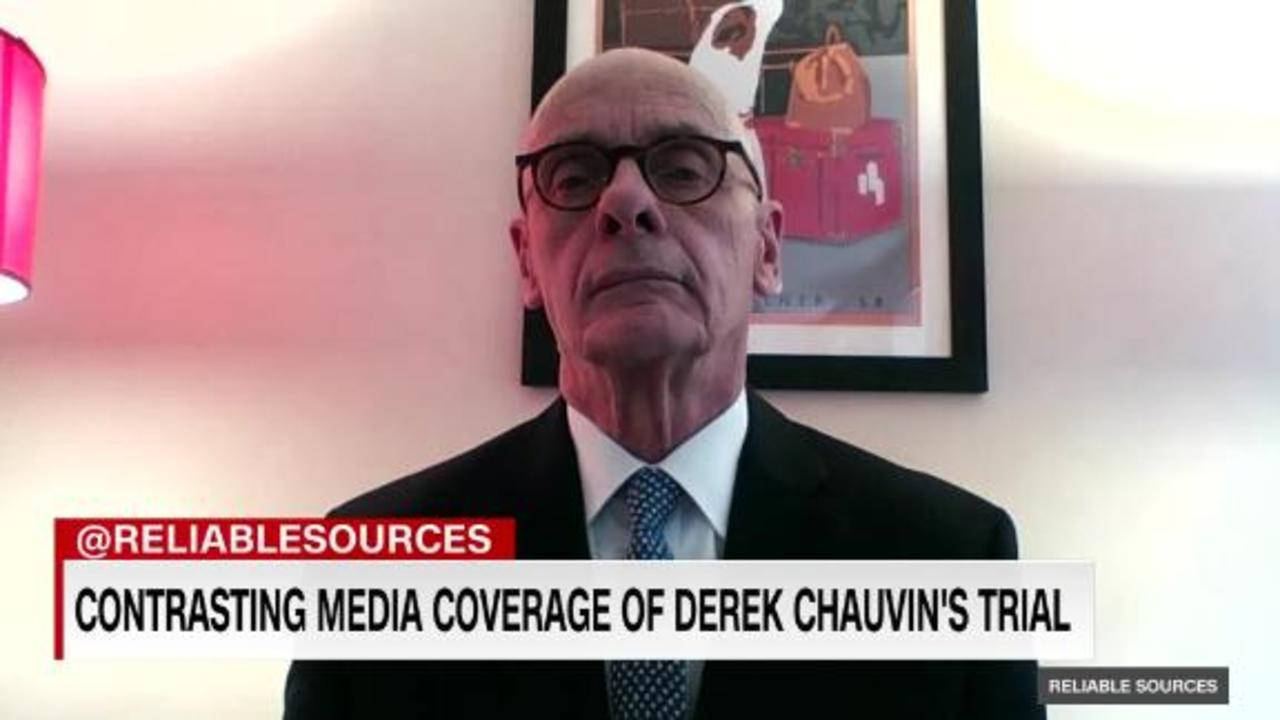 Contrasting media coverage of Derek Chauvin's trial