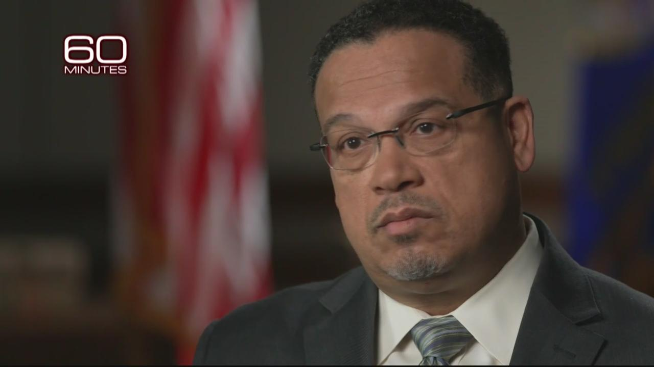 Keith Ellison Talks To '60 Minutes' About Chauvin Trial