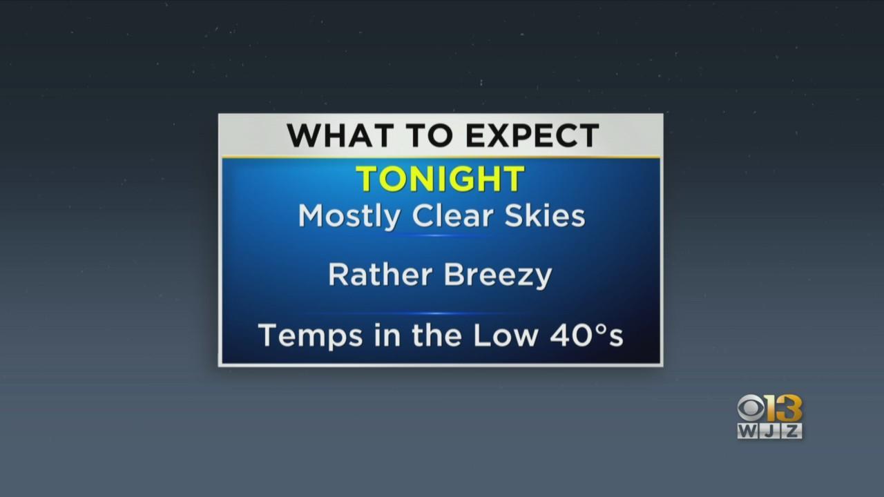 Meterologist Chelsea Ingram Has Your Sunday Evening Forecast