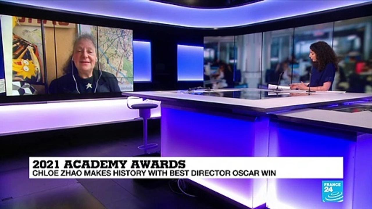 'Nomadland' wins big at pandemic Oscars as Zhao makes history