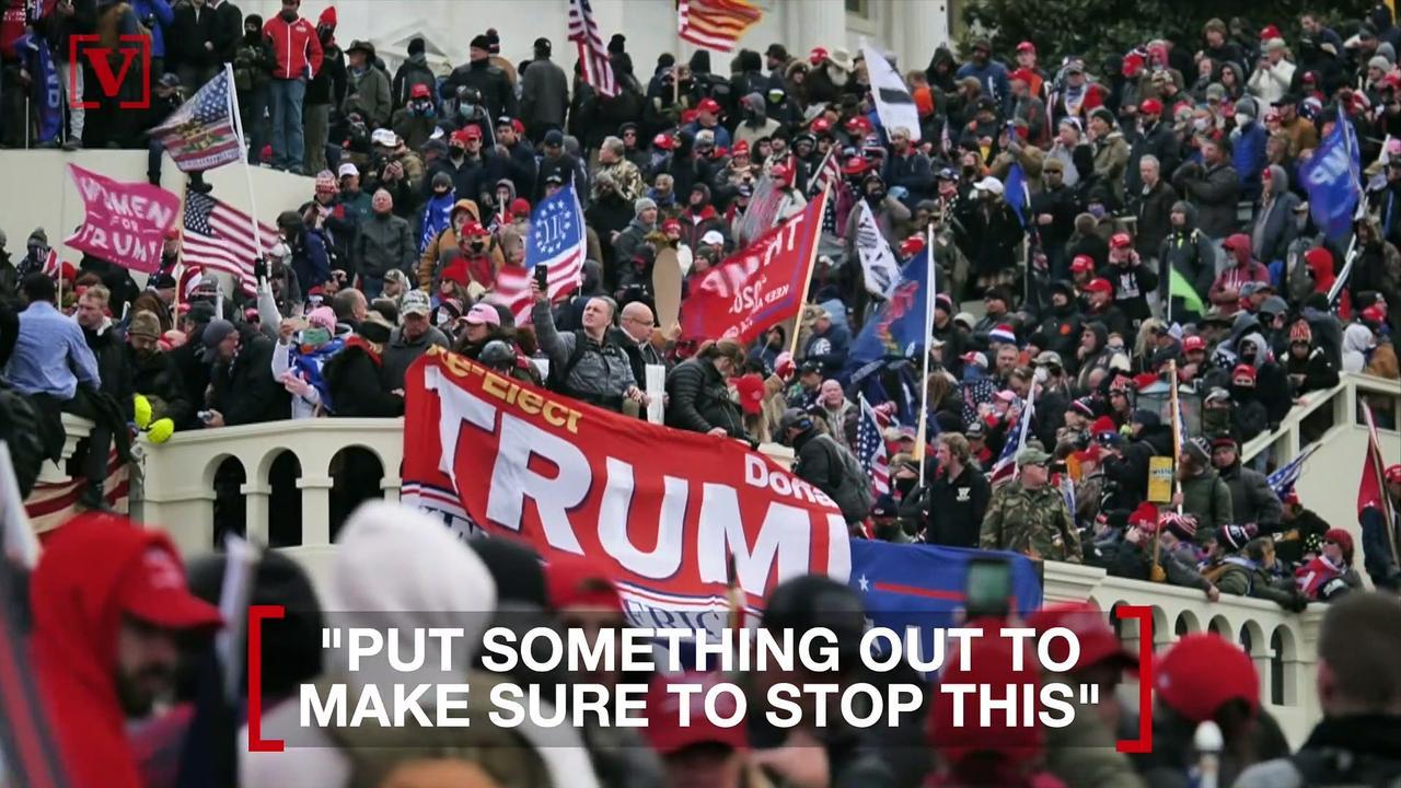 House Minority Leader Defends Trump's Jan. 6th Riot Response