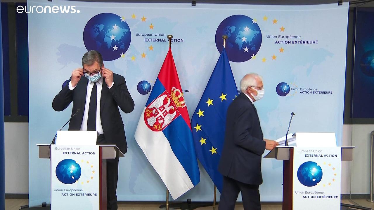 Brussels steps up pressure on Serbia over Kosovo talks