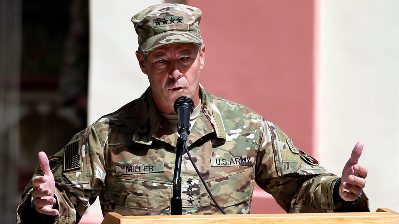 US commander in Afghanistan says steps for withdrawal have begun