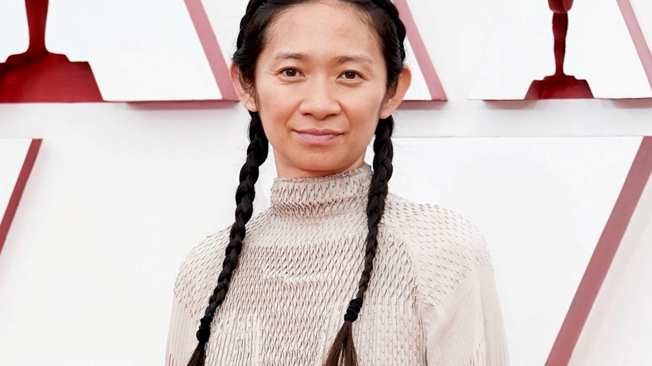 Chloe Zhao makes history as 1st woman of color to win Best Director Oscar