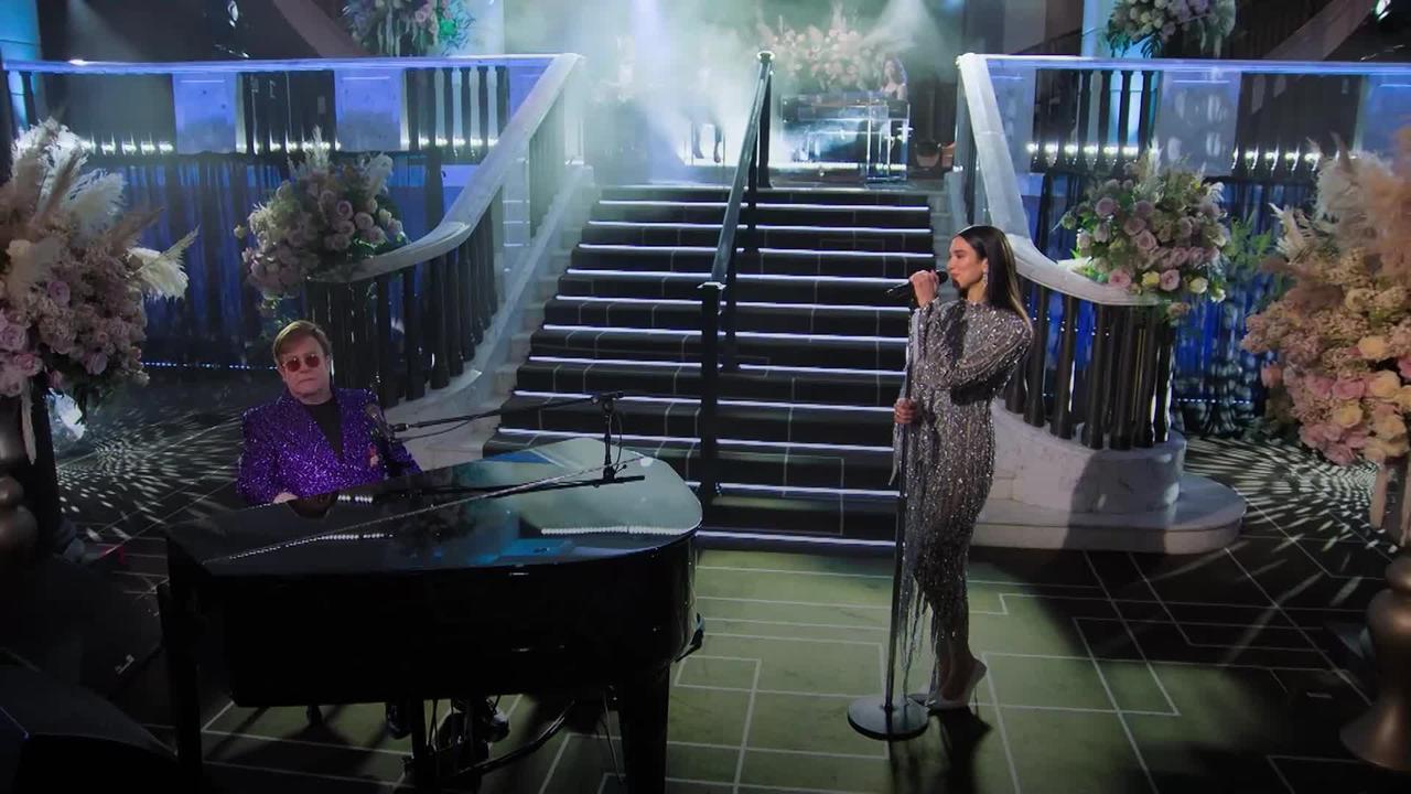 Sir Elton John's Oscars party raises millions for his Aids foundation