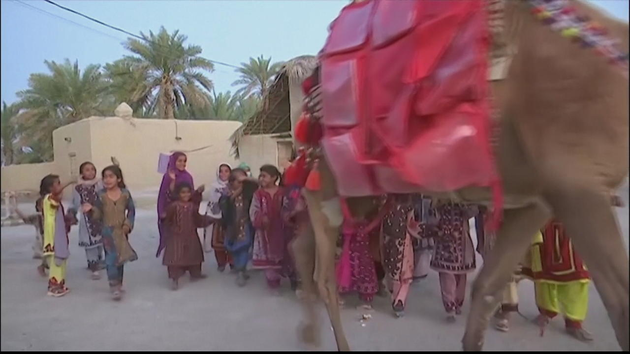 Pakistan's Camel Library project bumps book access for children