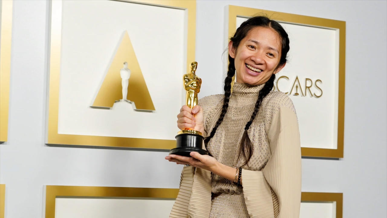 Chloe Zhao hopes Best Director Oscars win helps more people of colour 'live their dreams'
