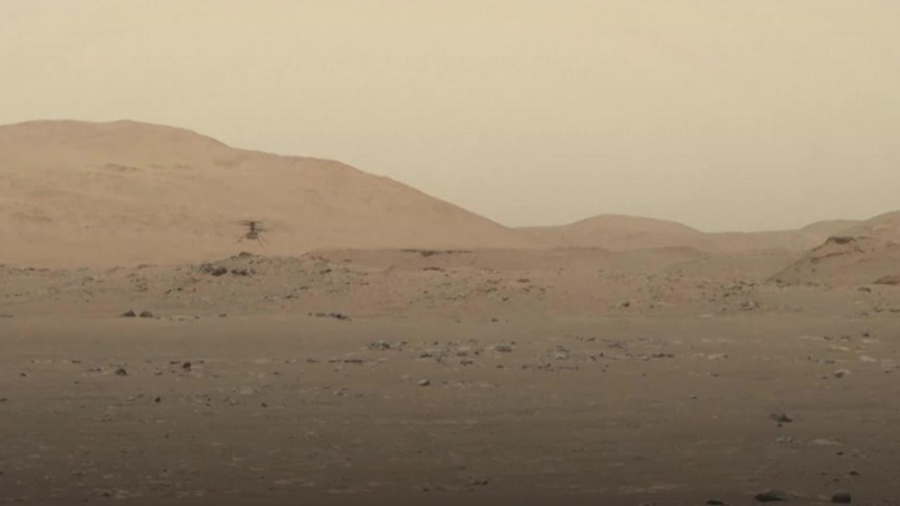 Nasa's Mars helicopter takes another successful flight
