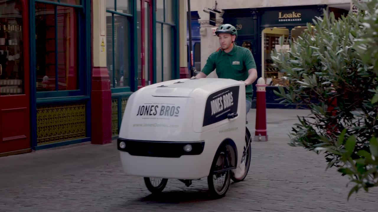 London dairy switch vans for electric cargo bikes