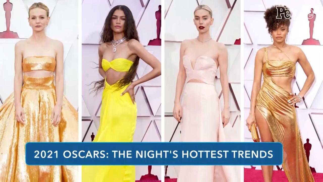 Here's the Hottest Trends from the 2021 Oscars Red Carpet