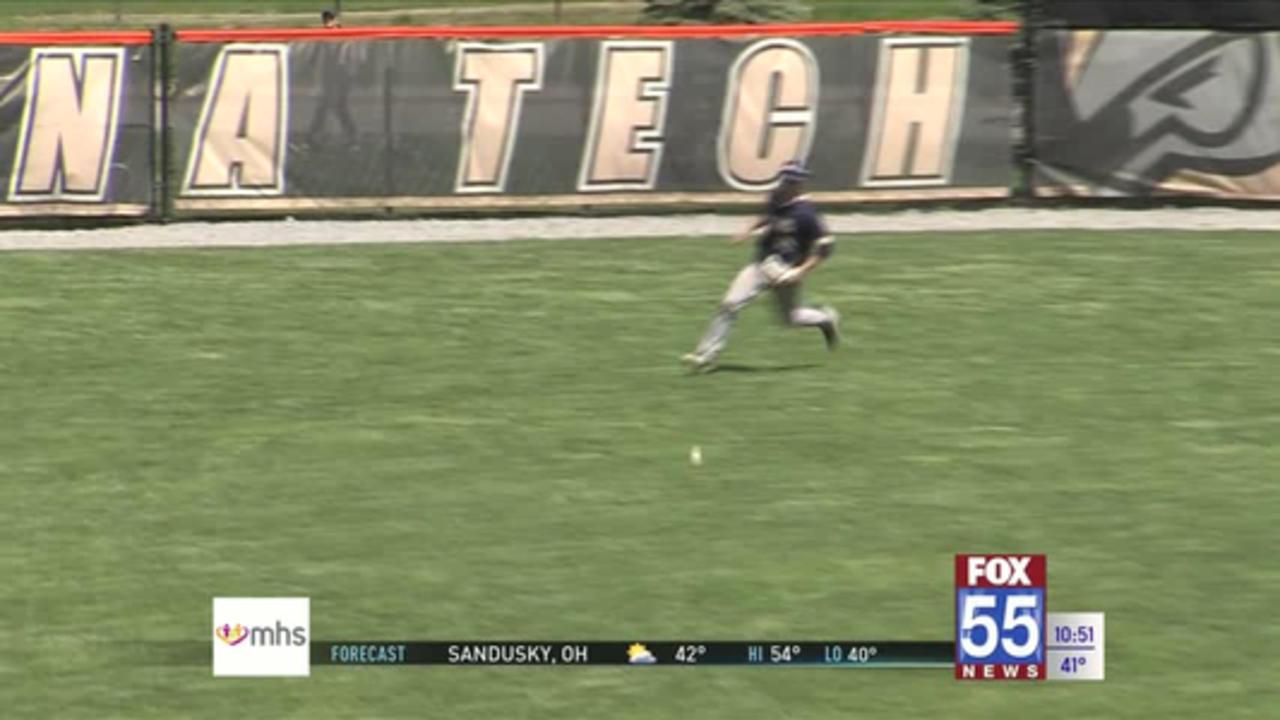 Four-Run Seventh Inning Propels Tech Baseball to Win Over Cornerstone