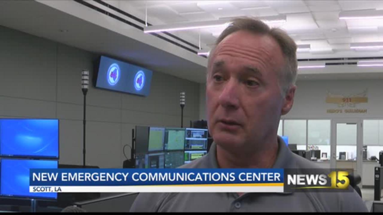 NEW 911 CENTER