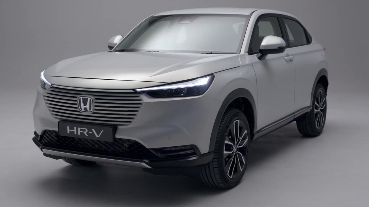 The all-new Honda HR-V e:HEV Exterior Design in White