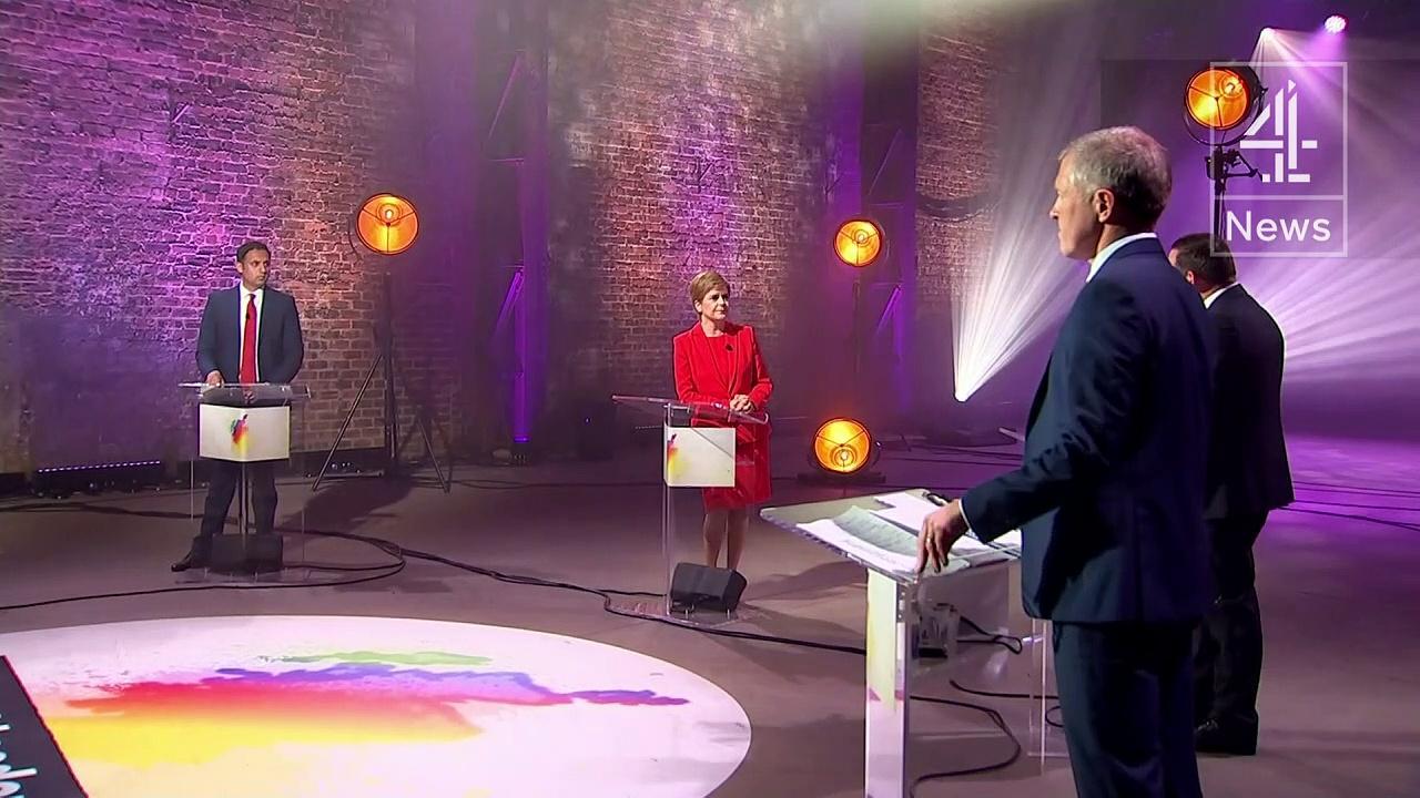 Scottish leaders clash over second independence referendum