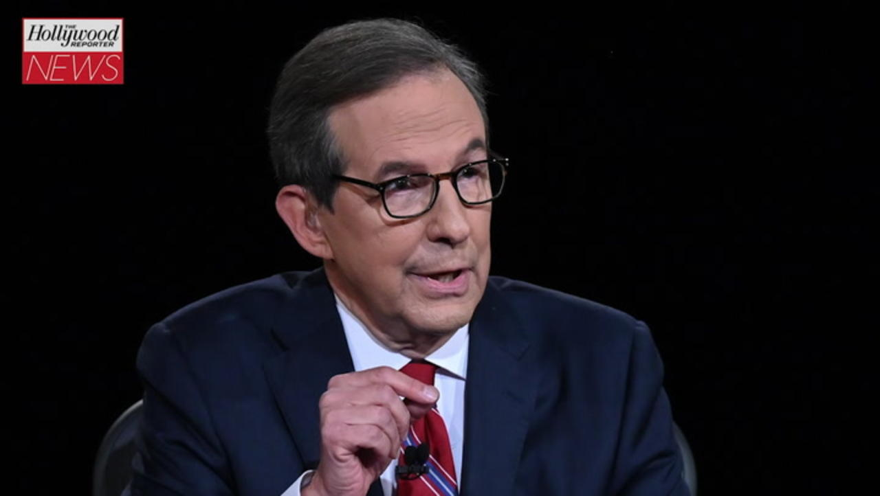 Fox News' Chris Wallace on Why He Doesn't Think the Press Was Tougher on Trump Than Biden | THR News