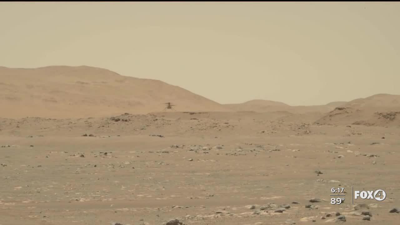 NASA's Ingenuity helicopter on Mars flies faster, farther on third flight