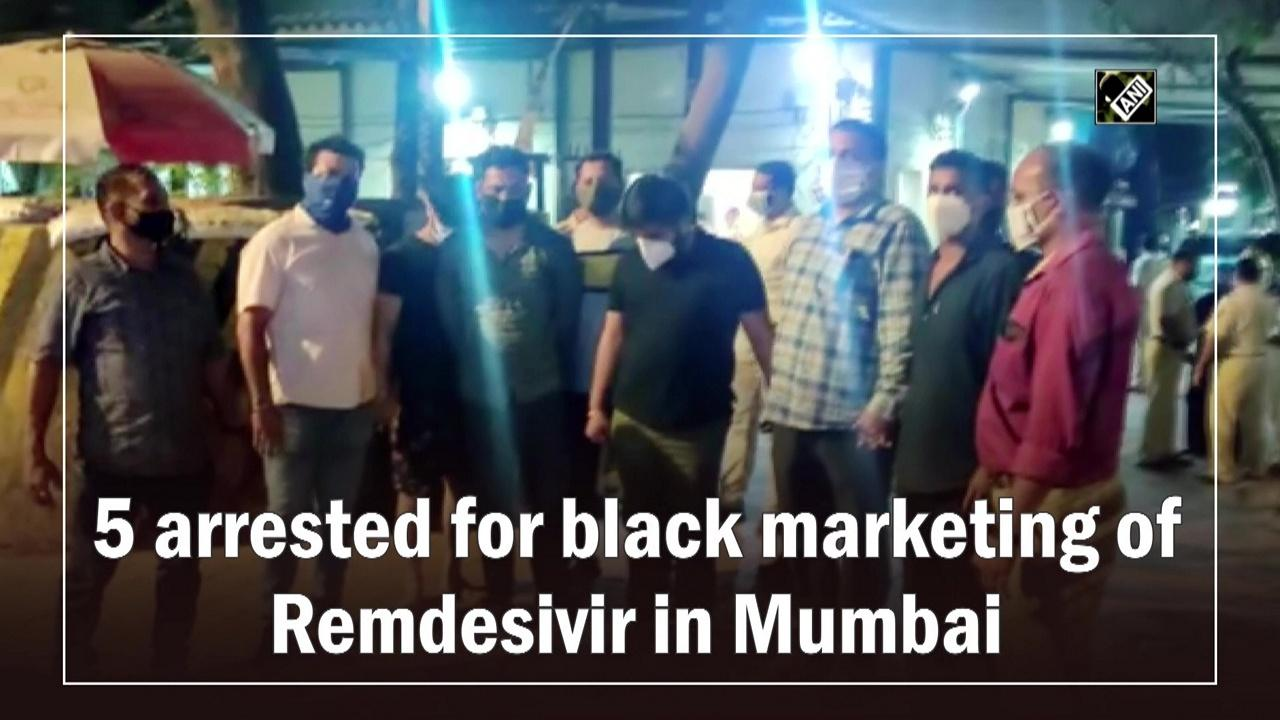 5 arrested for black marketing of Remdesivir in Mumbai