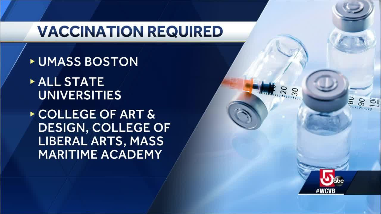 State universities to require COVID-19 vaccinations for students