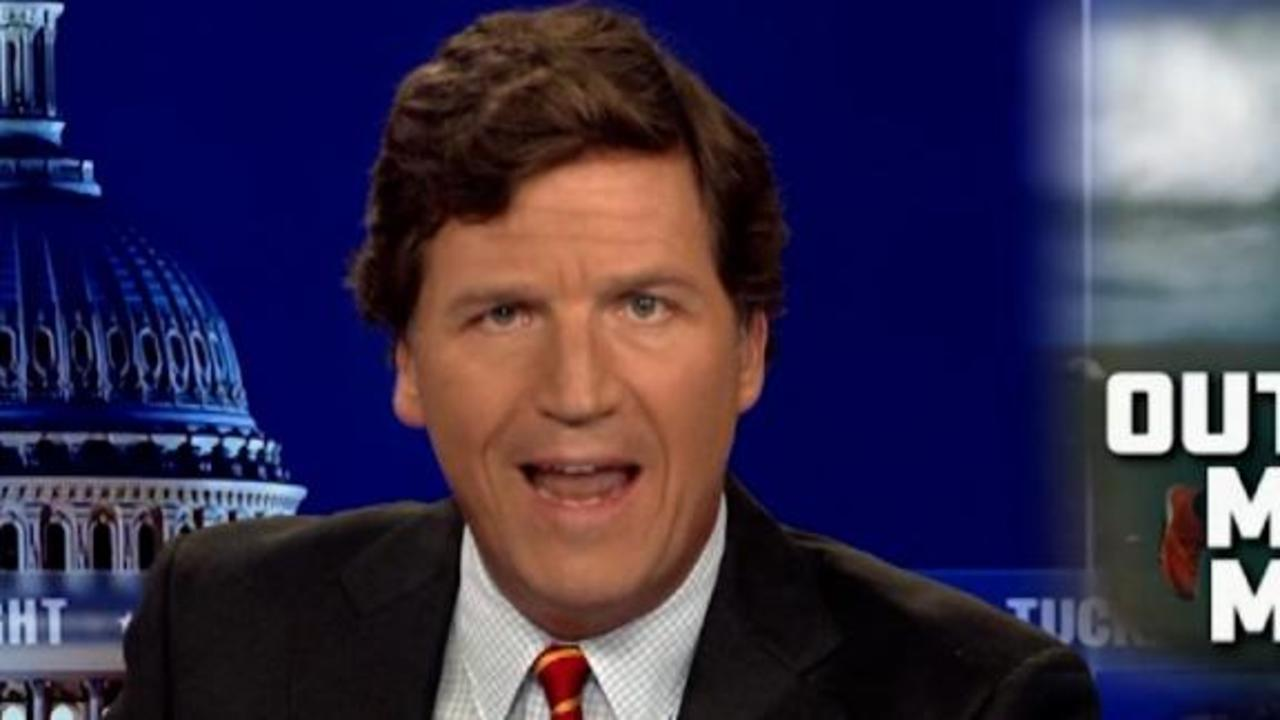 Tucker Carlson likens wearing a mask to exposing oneself in public