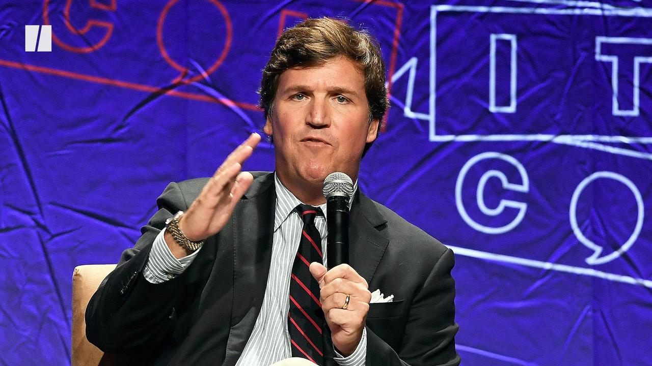 Tucker Shames Kids Wearing Masks
