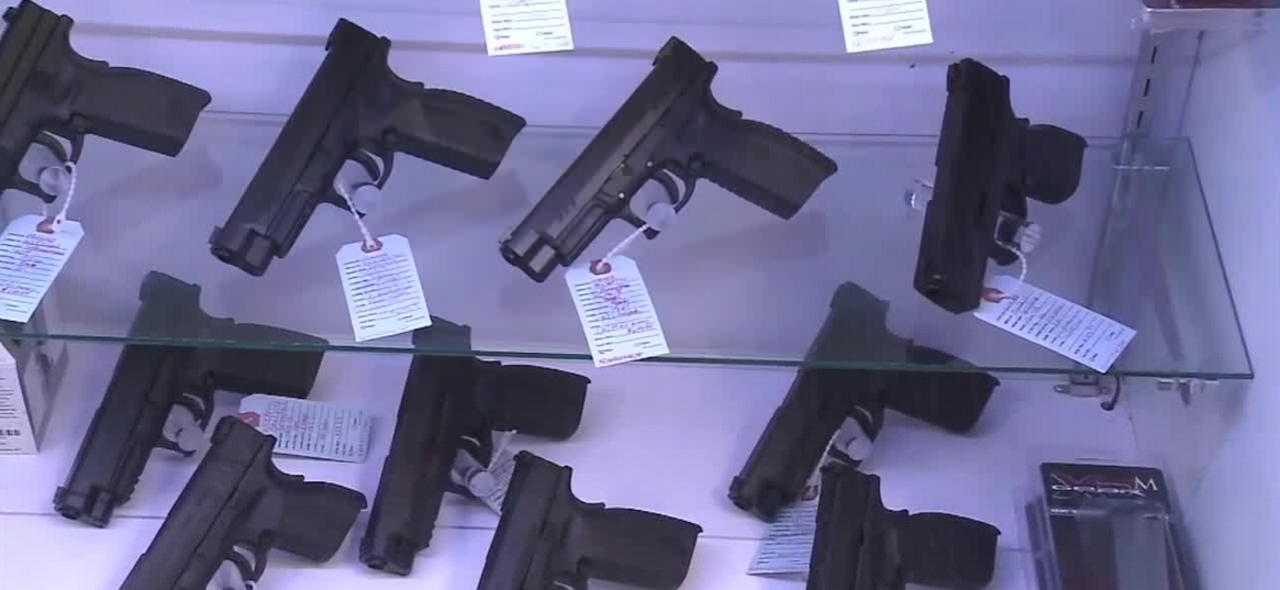 Report: gun sales rising for 2nd consecutive year