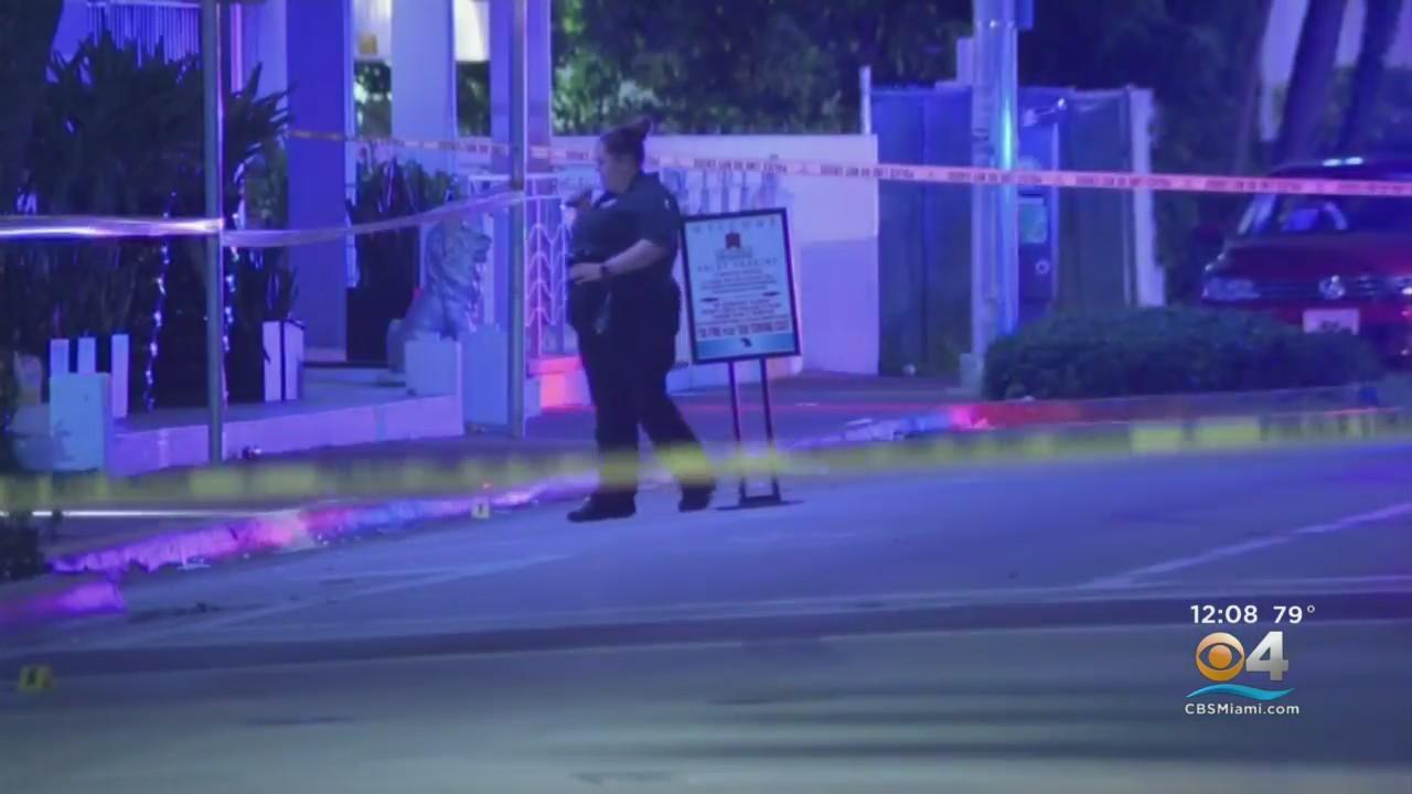 Overnight Shooting Under Investigation In Miami Beach