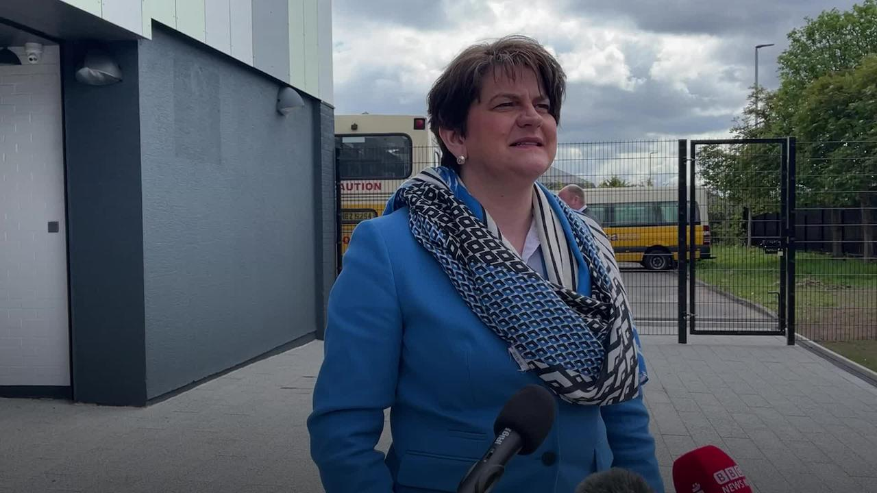 Arlene Foster plays down reports of rifts in DUP