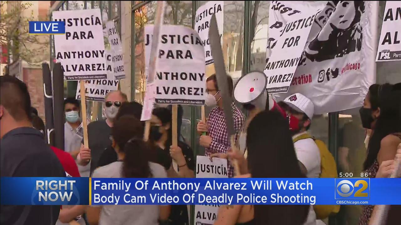Family Of Anthony Alvarez To Watch Body Cam Video Of Deadly Police Shooting