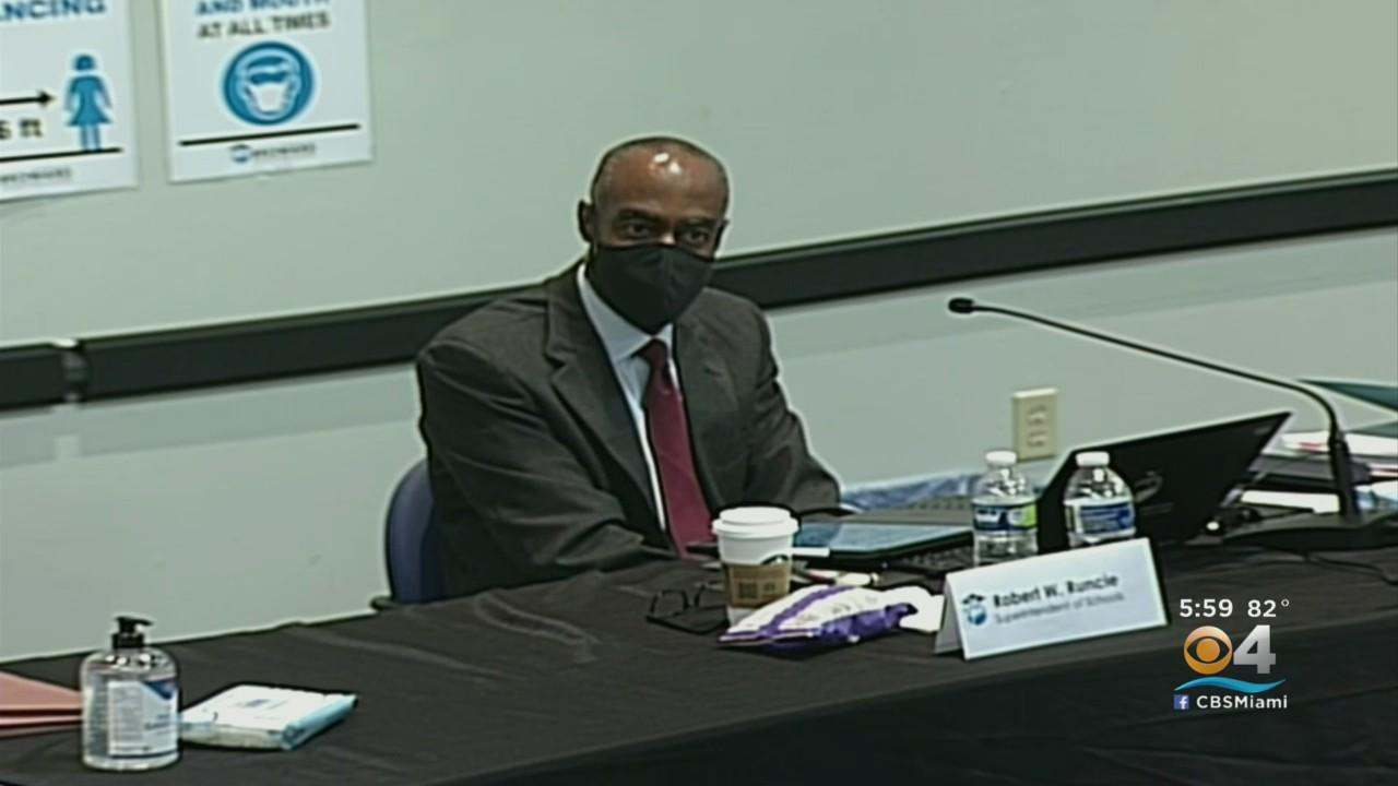 Superintendent Robert Runcie Says He's Willing To Discuss Stepping Down