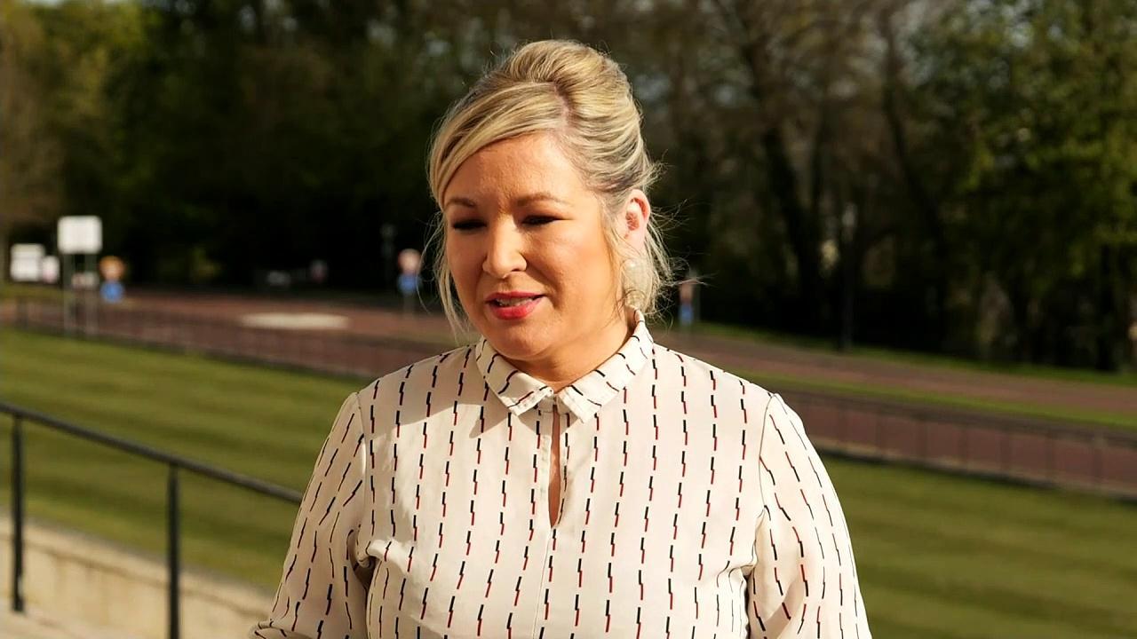 Sinn Fein react to resignation of Arlene Foster