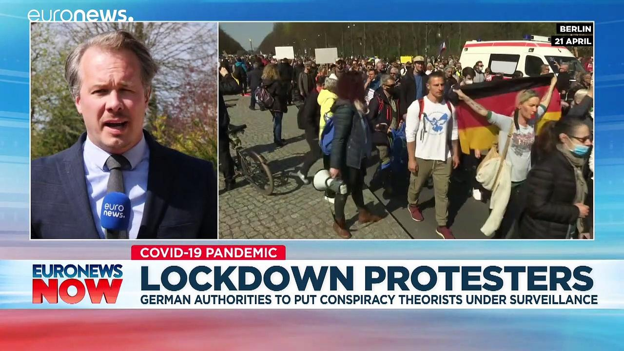 Germany puts anti-lockdown activists under surveillance
