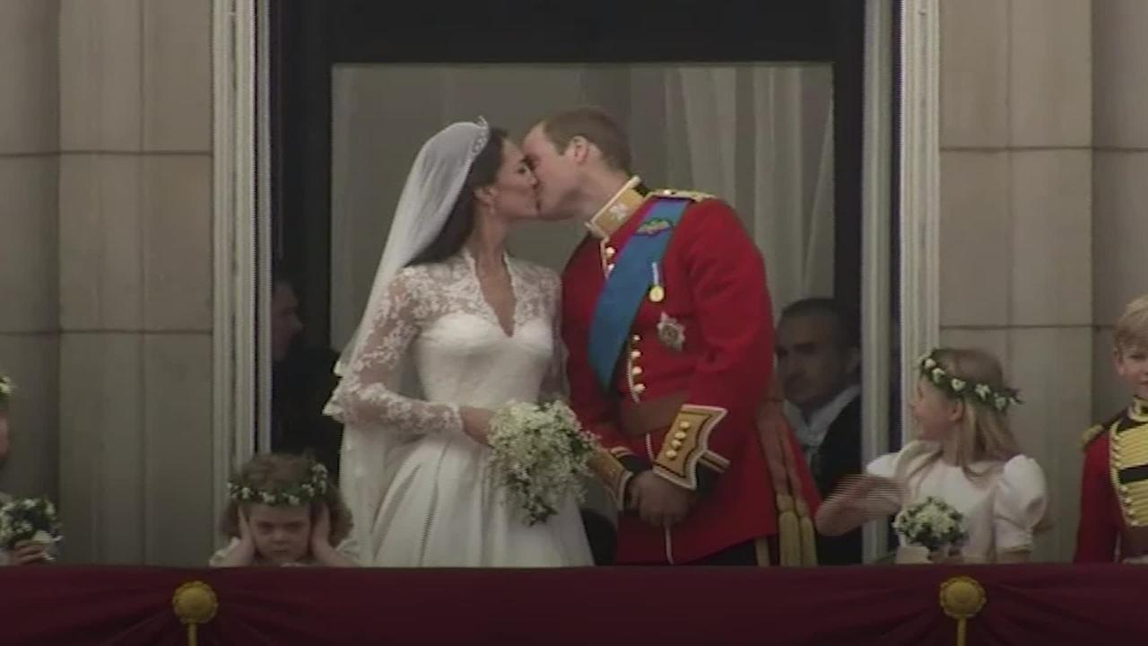 William and Kate's fairytale wedding