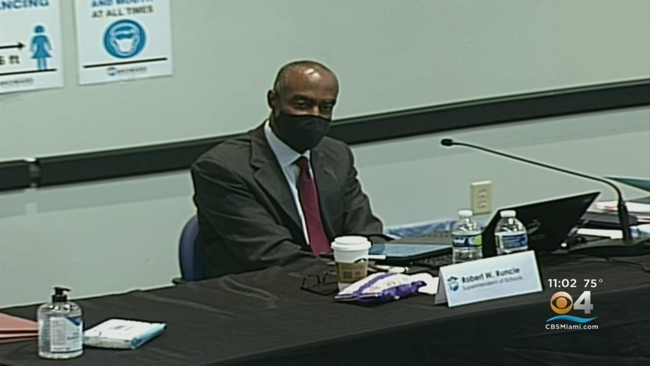 At Broward School Board Workshop, Superintendent Robert Runcie Says He's Open To Stepping Down