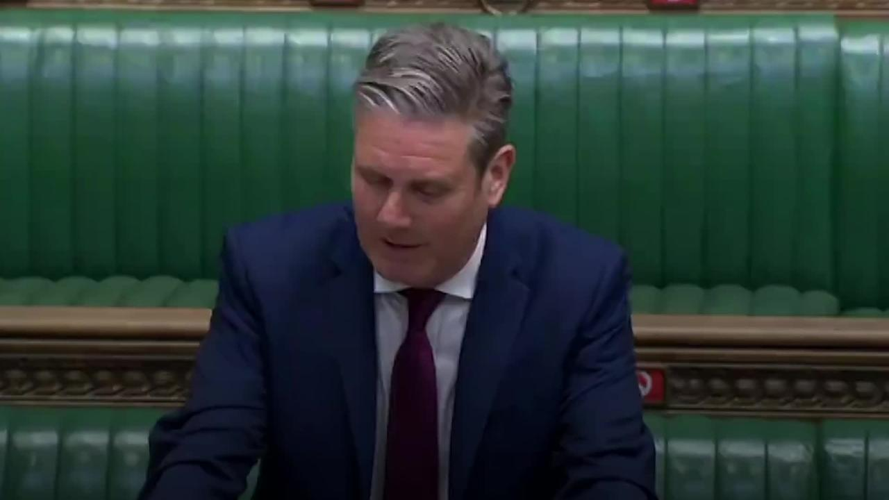 Starmer accuses Johnson of representing 'major sleaze' during PMQs row