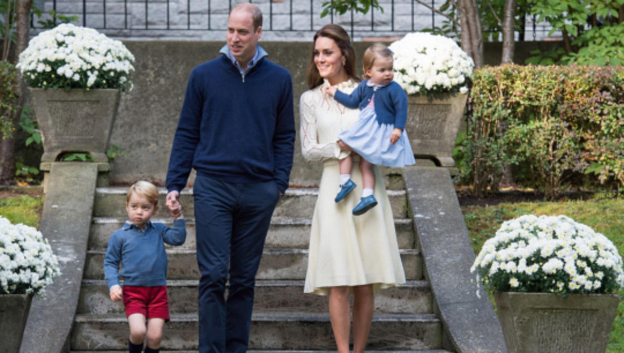 Locked Out in Love as the Duke and Duchess of Cambridge Arrive At Their 10 Year Anniversary
