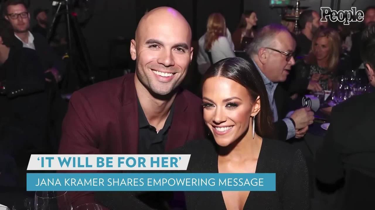 Jana Kramer Speaks Out with an Empowering Message After Filing for Divorce from Ex Mike Caussin