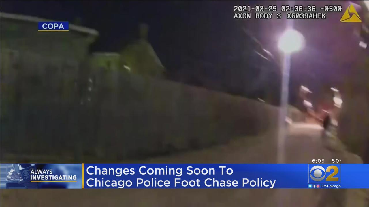 Changes Coming Soon To Chicago Police Foot Chase Policy