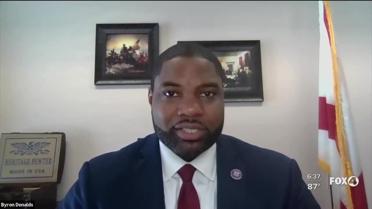 Republican Congressman Byron Donalds discusses law enforcement issues in our country