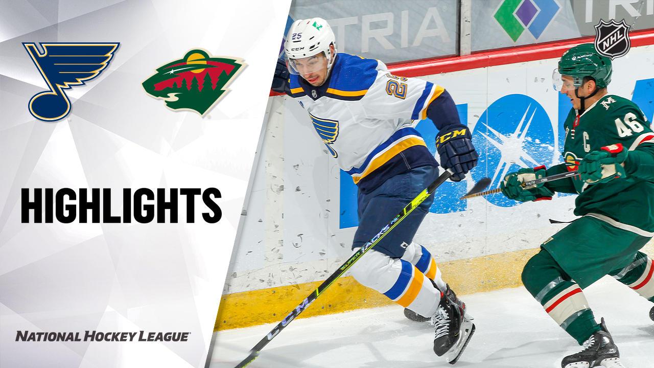 Blues @ Wild 4/28/21 | NHL Highlights
