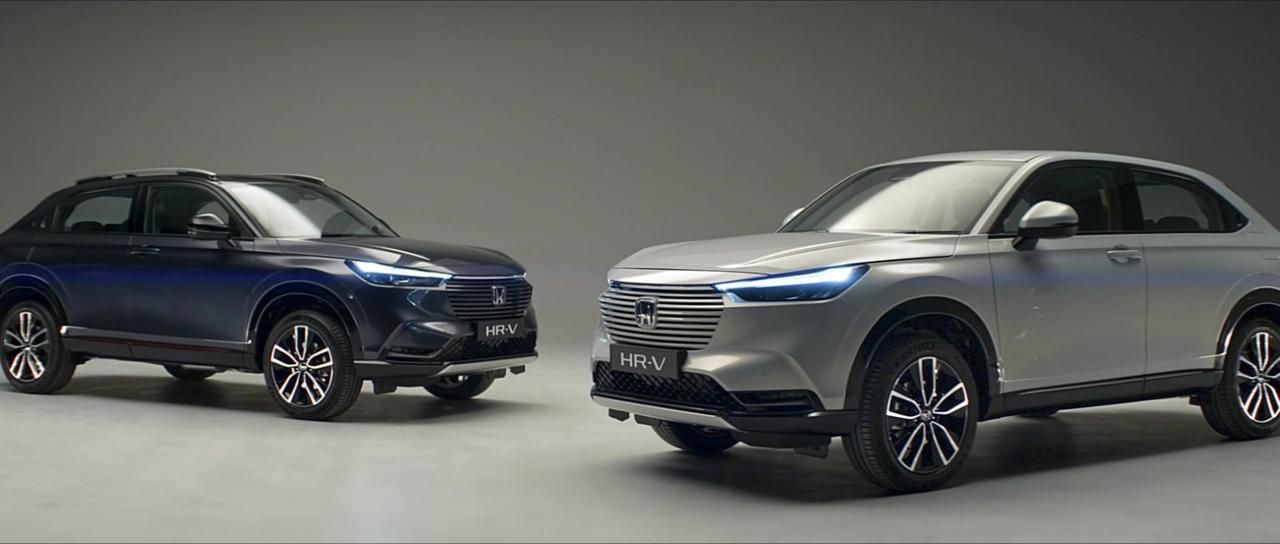 The all-new Honda HR-V e:HEV Trailer