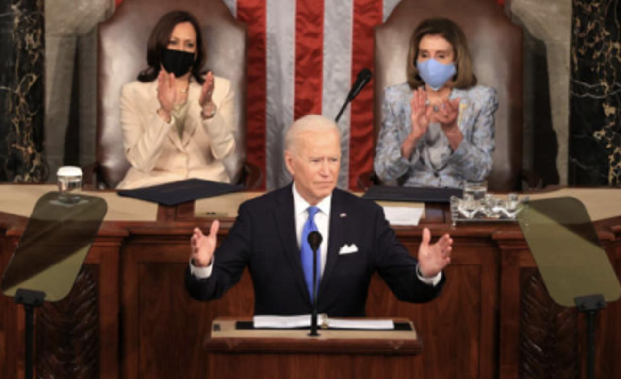 Biden Addresses Congress on the Eve of His First 100 Days as President