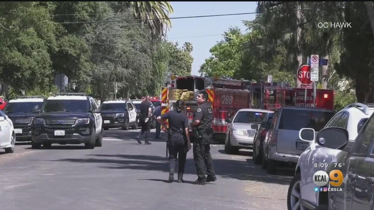 Off-Duty LAPD Officer Struck In Sherman Oaks Shooting, Suspect In Custody