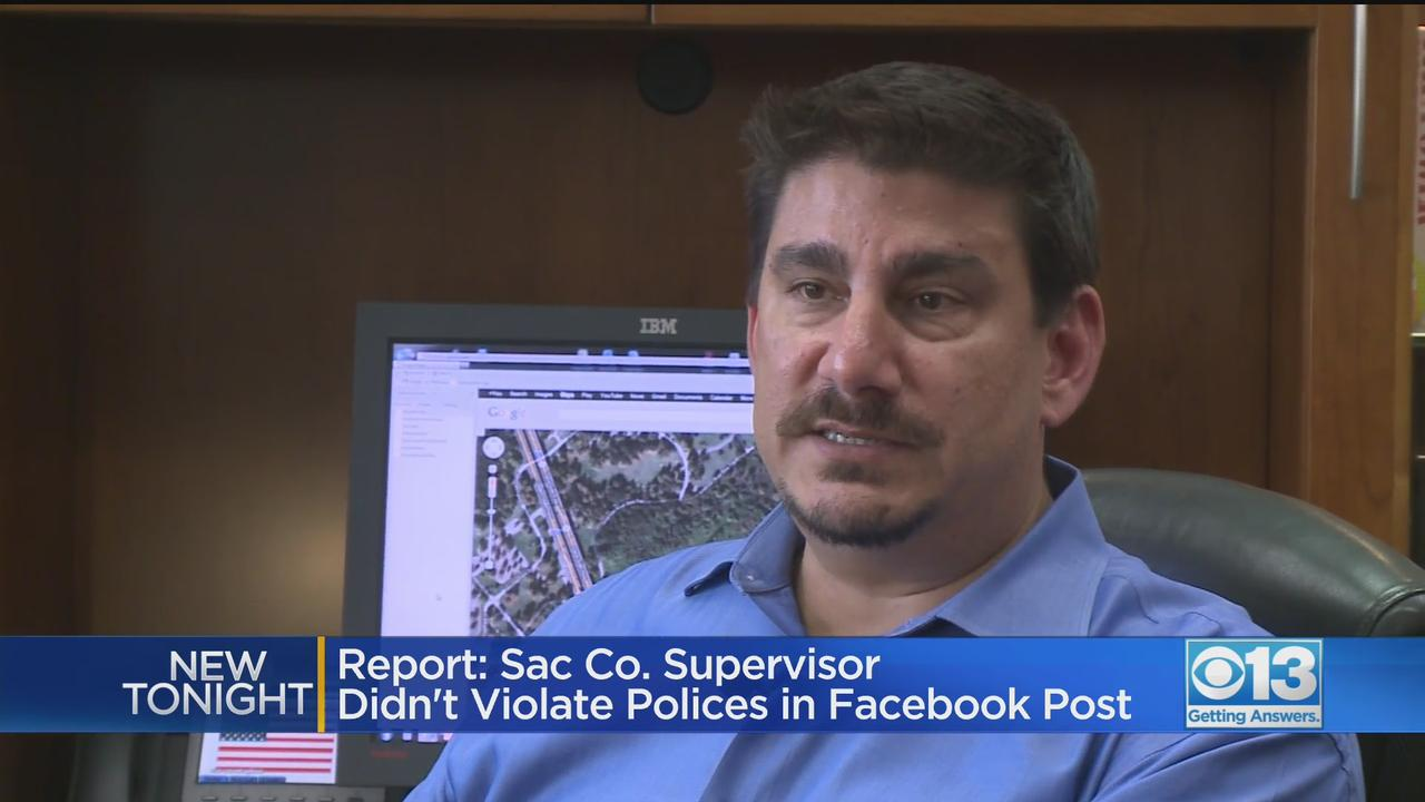 Investigator: Supervisor Serna Did Not Violate Police With Trump Comments
