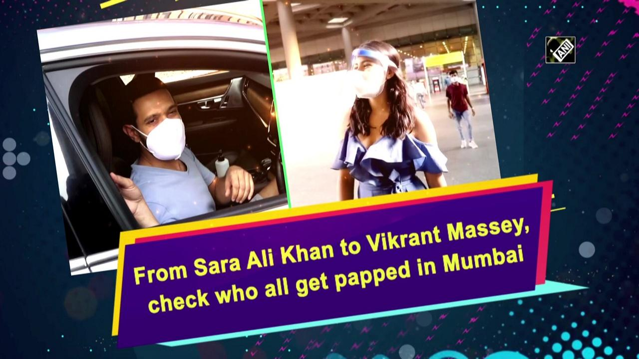 From Sara Ali Khan to Vikrant Massey, check who all get papped in Mumbai